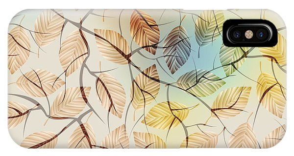 Seamless iPhone Case - Seamless Background Pattern.  Autumn by Tatiana Kasyanova