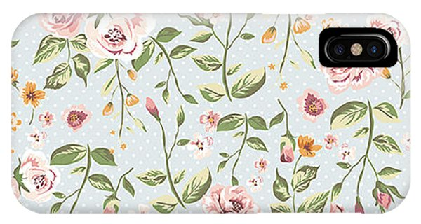 Luxury iPhone Case - Seamless Floral Pattern by Shmagamot