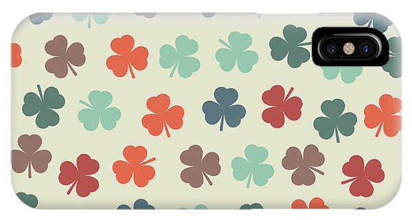 Irish iPhone Case - Seamless Pattern With Clover. St by Olgasha