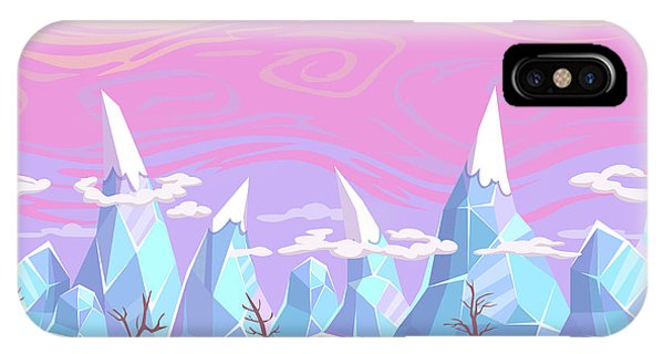 Ice iPhone Case - Seamless Vector Cartoon Fantasy by Lilu330