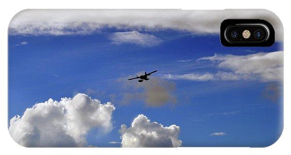 Seaplane Skyline IPhone Case