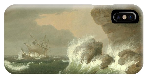 Seascape, 1835 IPhone Case