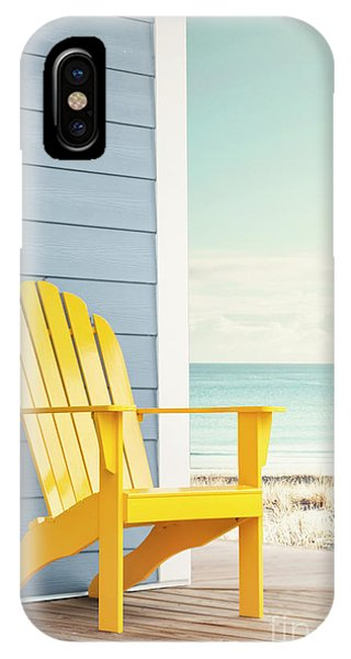 Porches iPhone Case - Seaside by Evelina Kremsdorf