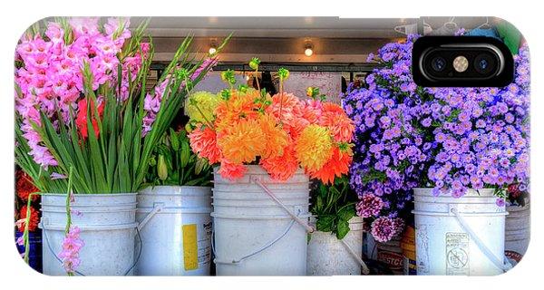 Seattle Flower Market IPhone Case