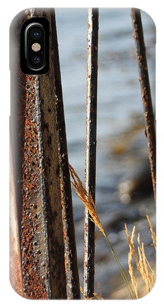 Seaview Through The Fence IPhone Case