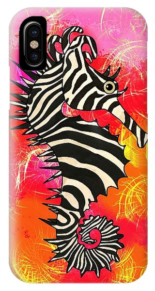 iPhone Case - Seazebra Digital10 by Joan Stratton
