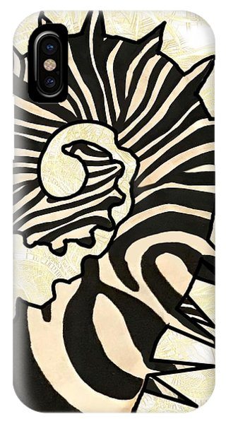 iPhone Case - Seazebra Digital15 by Joan Stratton