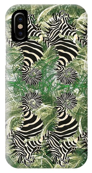 iPhone Case - Seazebra Digital16 by Joan Stratton