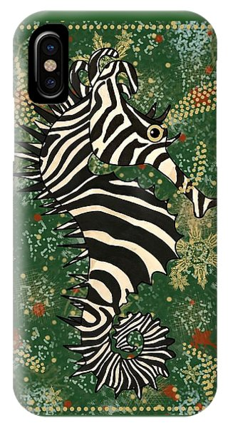iPhone Case - Seazebra Digital4 by Joan Stratton