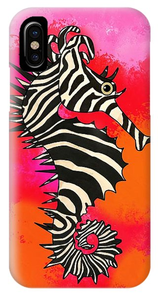 iPhone Case - Seazebra Digital9 by Joan Stratton