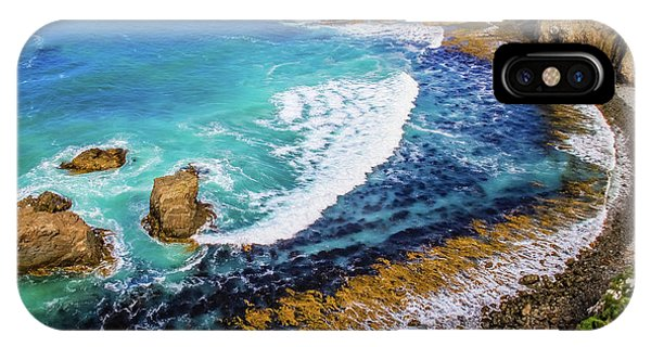 Roaring Bay At Nugget Point IPhone Case