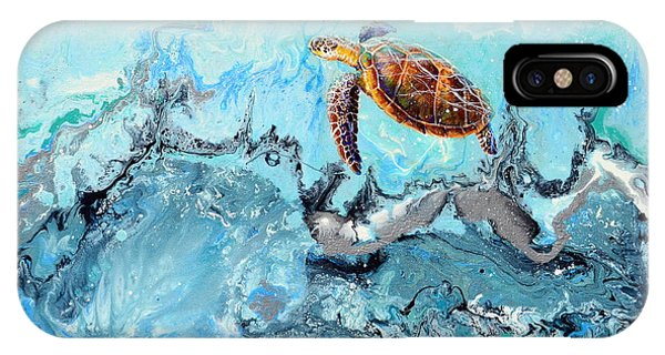 See Turtle IPhone Case