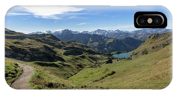 IPhone Case featuring the photograph Seealpsee, Allgaeu Alps by Andreas Levi