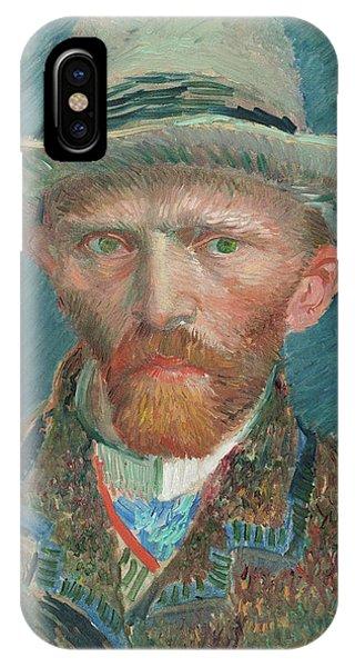 Van Gogh Museum iPhone Case - Self-portrait, 1888 by Vincent van Gogh