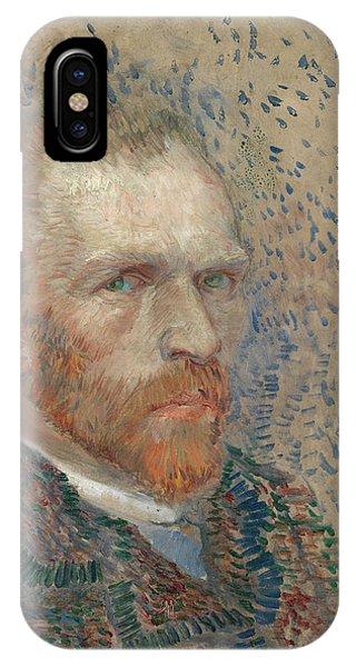 Van Gogh Museum iPhone Case - Self-portrait - 3 by Vincent Van Gogh