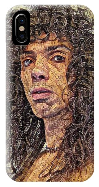 Self Portrait - The Shawn Mosaic - 80s Glam Rock IPhone Case