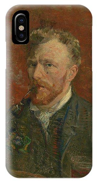 Van Gogh Museum iPhone Case - Self-portrait With Glass by Vincent van Gogh