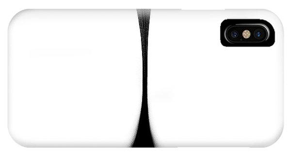 Outline iPhone Case - Sensual Abstract Buttocks by Johan Swanepoel