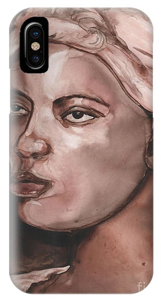 Sepia Woman IPhone Case