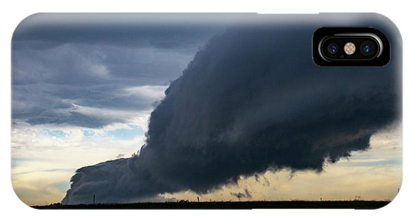 IPhone Case featuring the photograph September Thunderstorms 003 by NebraskaSC