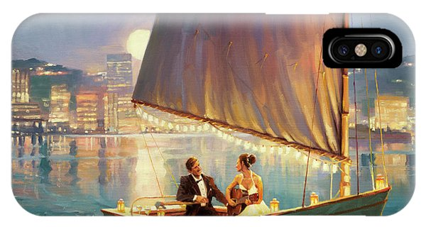 Moonlight iPhone Case - Serenade by Steve Henderson