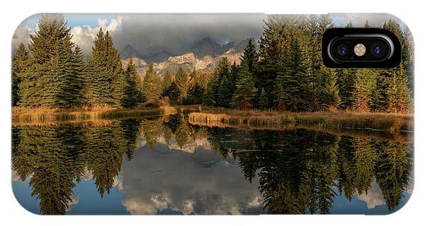 Serene At Schwabachers Landing IPhone Case