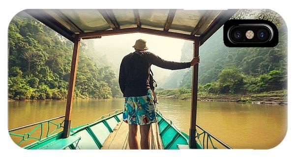 Serenity iPhone Case - Serenity Babe Lake In Vietnam by Galyna Andrushko