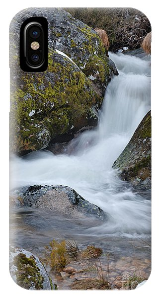 Serra Da Estrela Waterfalls. Portugal IPhone Case