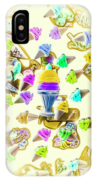 Tasty iPhone Case - Served Ice-cream Cold by Jorgo Photography - Wall Art Gallery