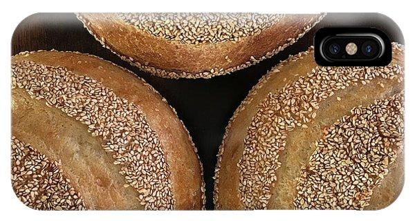 Sesame Seed Stripes 3 IPhone Case