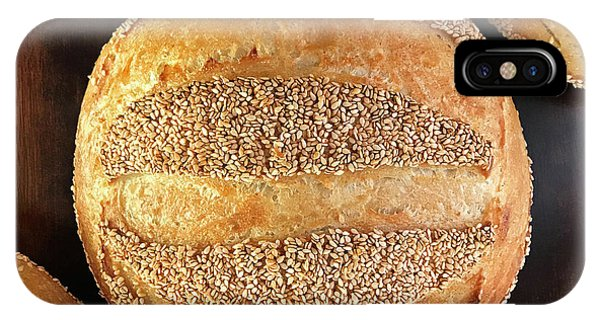 Sesame Seed Stripes 4 IPhone Case