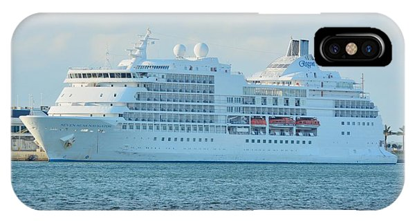IPhone Case featuring the photograph Seven Seas Navigator At Port by Bradford Martin