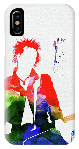 Print iPhone Case - Sex Pistols Watercolor by Naxart Studio