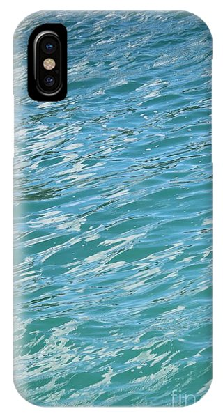 iPhone Case - Shades Of Tropical Blue Water by Carol Groenen