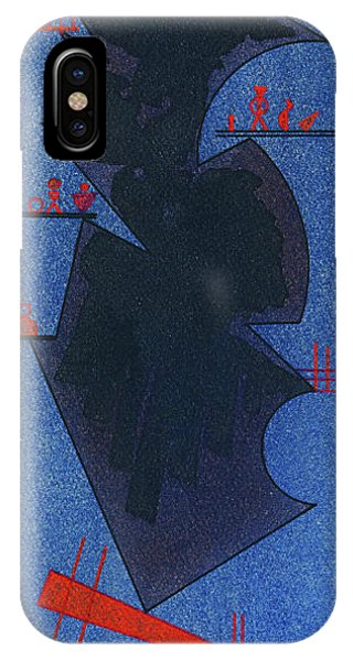 Synthesis iPhone Case - Shadow, 1931 by Wassily Kandinsky