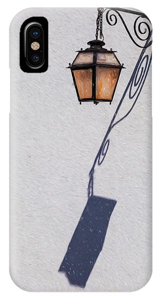 Shadow Lamp IPhone Case