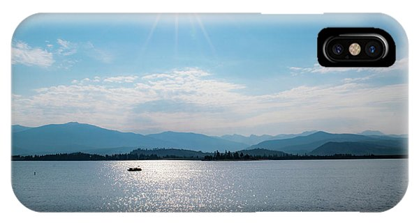 Shadow Mountain Lake IPhone Case