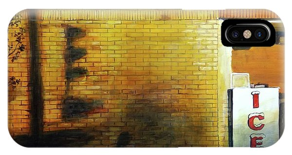 IPhone Case featuring the painting Shadows On The Wall by William Brody