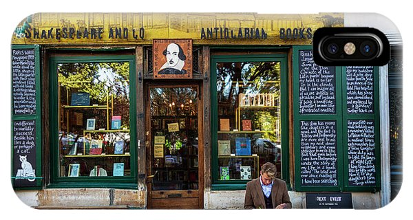 Shakespeare And Company Bookstore IPhone Case