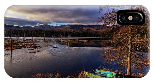 Shaw Pond Sunrise - Landscape IPhone Case