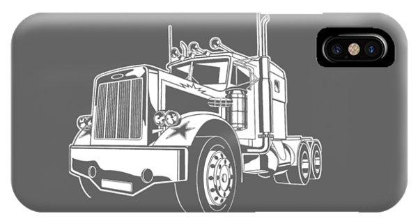 Trucking iPhone Case - She Asked Me Do Whatever I Want So I'm Going Trucking by Black Shirt