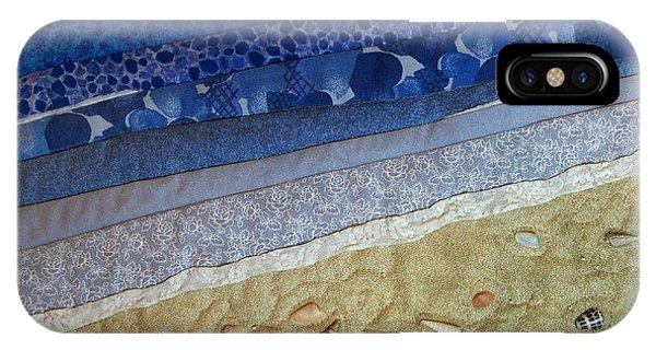 She Sews Seashells On The Seashore IPhone Case