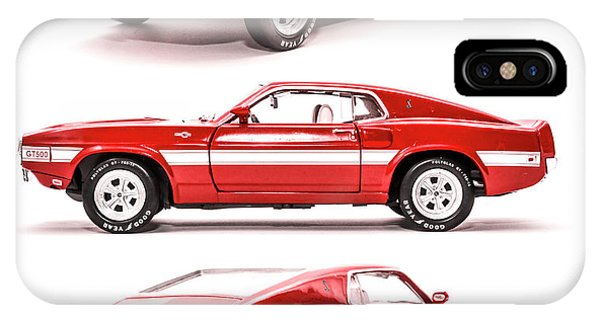 Vehicles iPhone Case - Shelby Gt500  by Jorgo Photography - Wall Art Gallery