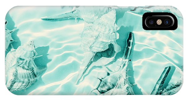 Under Water iPhone Case - Shell Shallows by Jorgo Photography - Wall Art Gallery