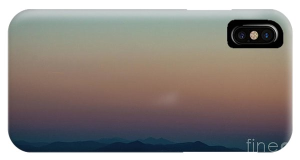 Sherbert Sunset Over The Blue Ridge Mountains IPhone Case