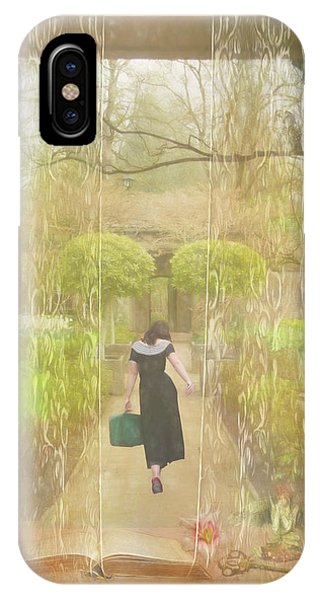 Leave iPhone Case - She's Leaving Home by Marilyn Wilson