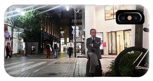 Shinjuku Man IPhone Case