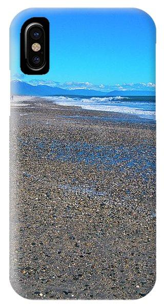 IPhone Case featuring the photograph Ship Creek Beach - New Zealand by Steven Ralser