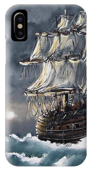 Ship Voyage IPhone Case