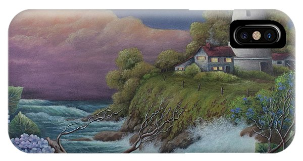 Lavender iPhone Case - Show Me The Way by Teresa Frazier